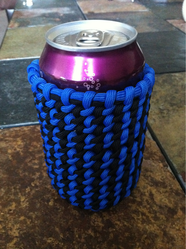 Grab some handles paracord page 2 for Paracord koozie how to make
