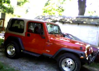 How to paint a Wrangler hardtop