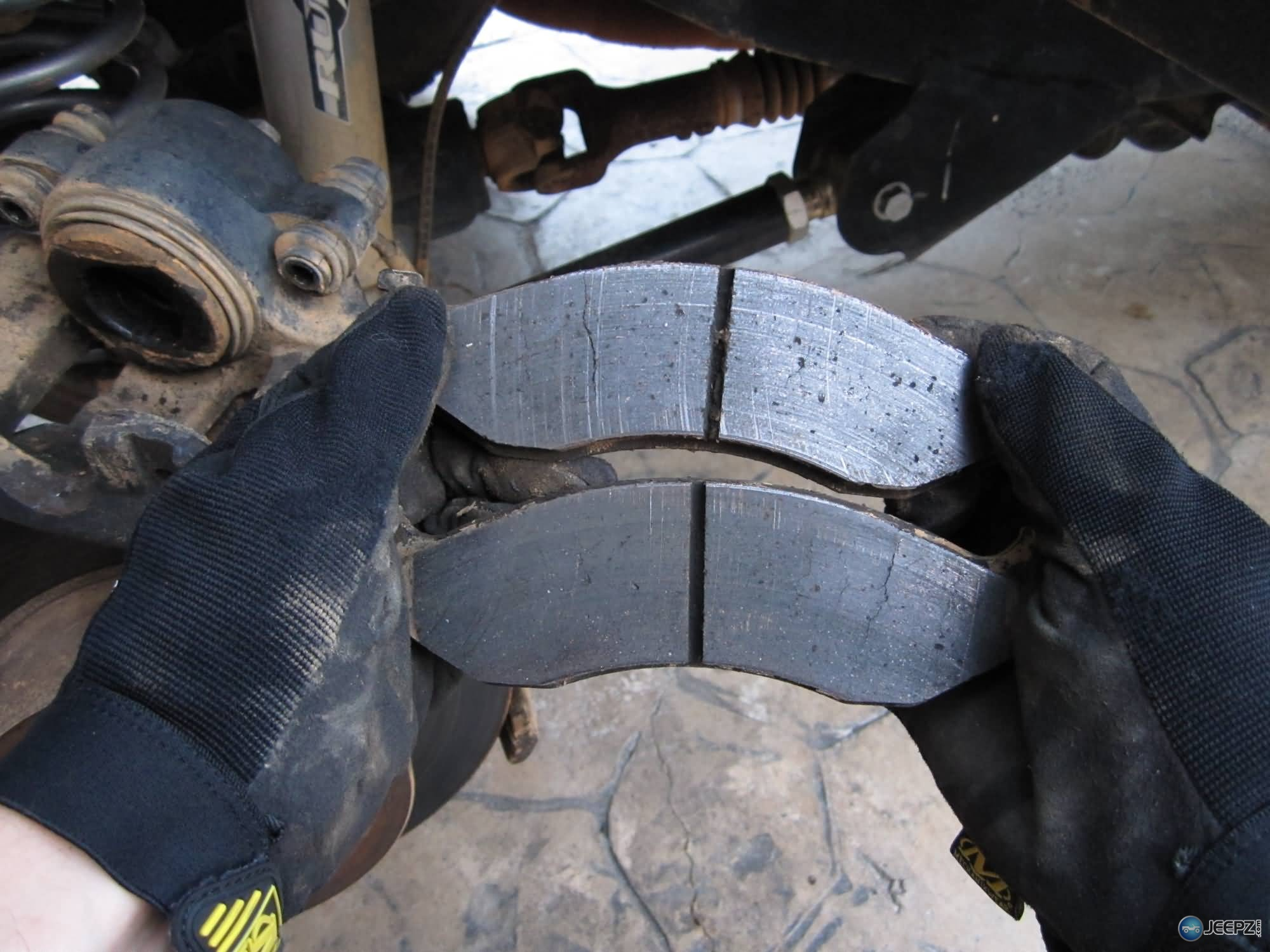 Cracks In Brake Pads