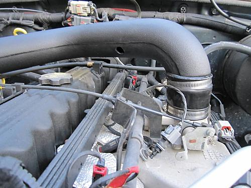 Install a cold air intake on a Jeep Wrangler TJ-15-install-engine-side-intake.jpg
