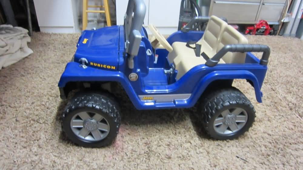 Picked Up A Power Wheels Jeep