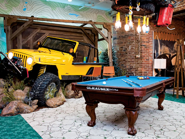 Jeep Themed Room