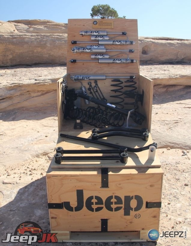 Jeep Mopar Will Begin Offering Lift Kits That Can Be