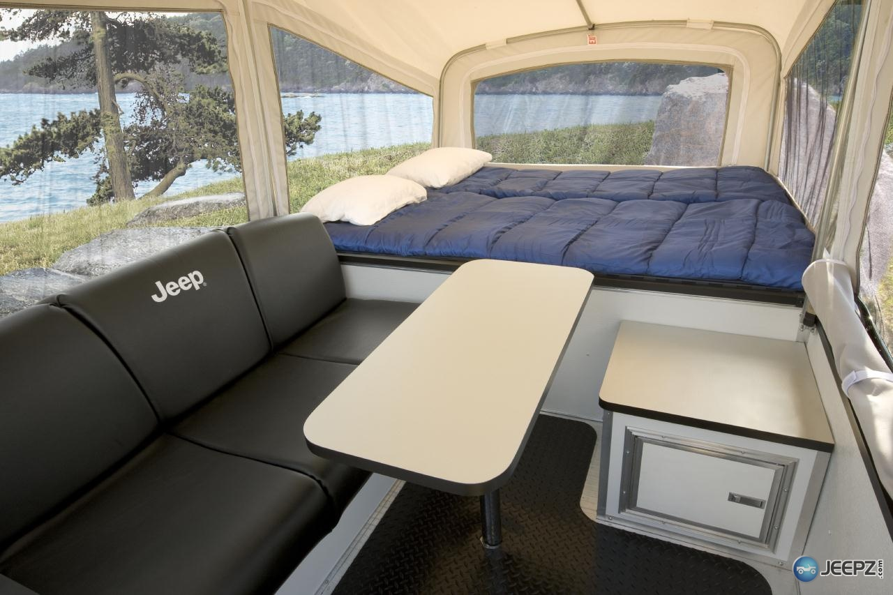 SUV Campers http://www.suvtents.net/jeep-top-tent-camper/