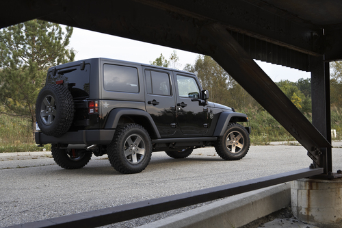 The 2011 Jeep Wrangler and Wrangler Unlimited Call of Duty: Black Ops
