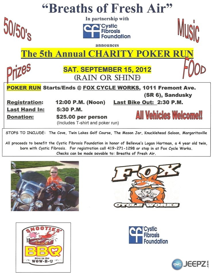 Orlando jeep club poker run