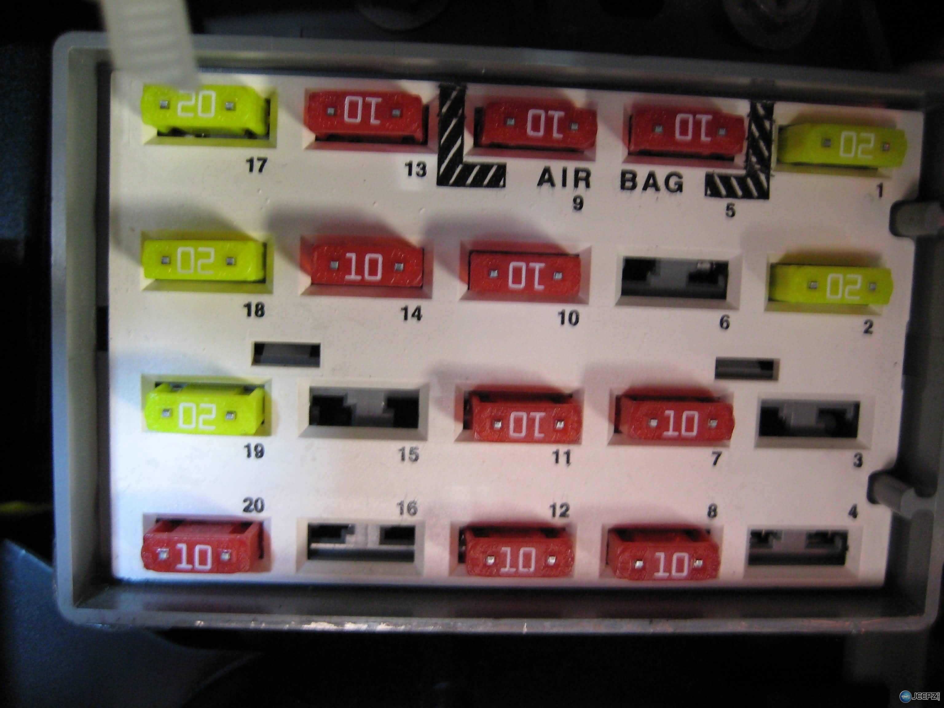 1149d1206929075 wrangler dome light switch fuse_wrangler_dome_light cigarette lighter plug fuse? jeep wrangler forum jeep wrangler tj fuse box diagram at gsmx.co
