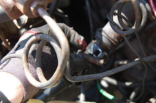 Replacing the lower steering shaft bearing and steering gear coupling on a CJ-dsc_0027.jpg