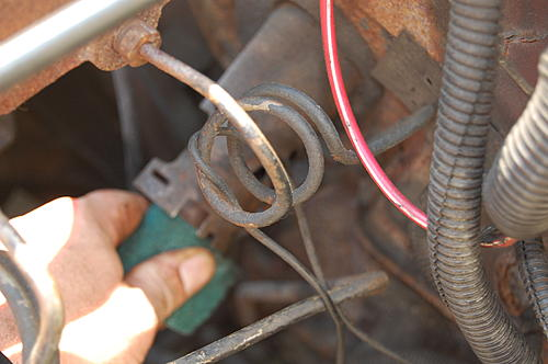 Replacing the lower steering shaft bearing and steering gear coupling on a CJ-dsc_0037.jpg