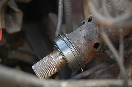 Replacing the lower steering shaft bearing and steering gear coupling on a CJ-dsc_0048.jpg