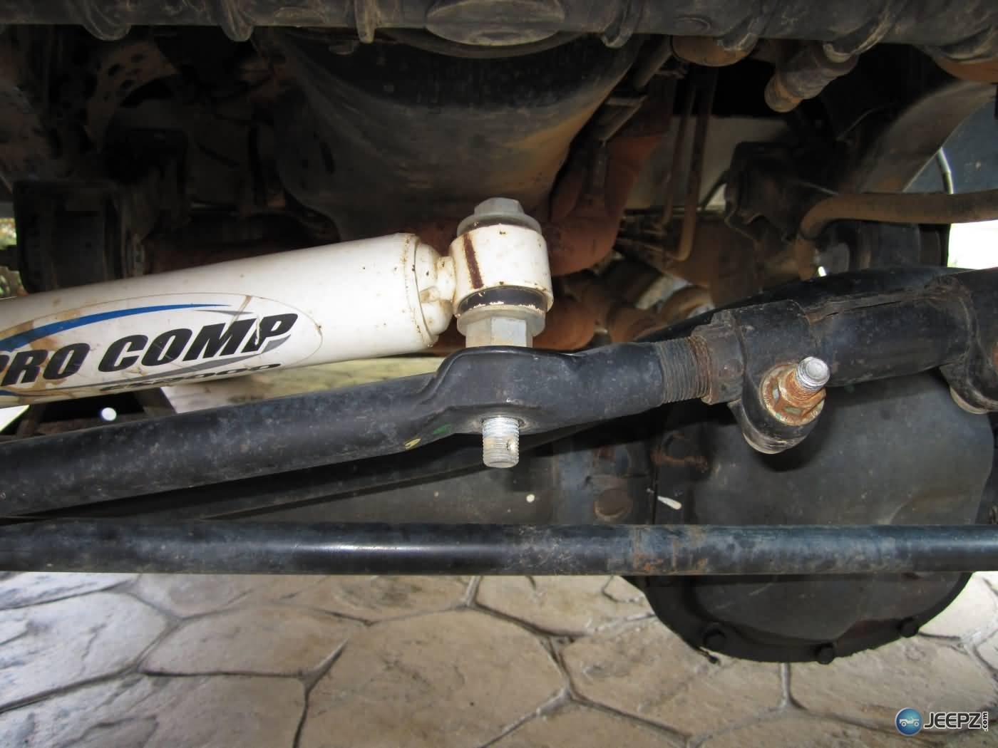 Installing A Wrangler Steering Stabilizer