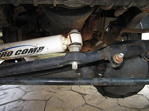 Installing a Wrangler steering stabilizer-tj-steering-stabilizer-nut-removed.jpg