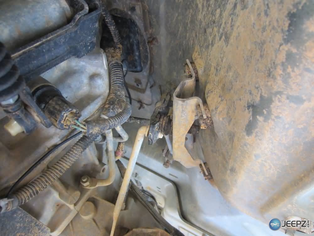 4x4 Transfer Case Jeep Wrangler Transfer Case Linkage Bracket