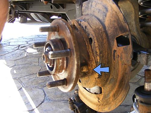 Jeep Wrangler Ball Joint Replacement-6-bolts-removed.jpg