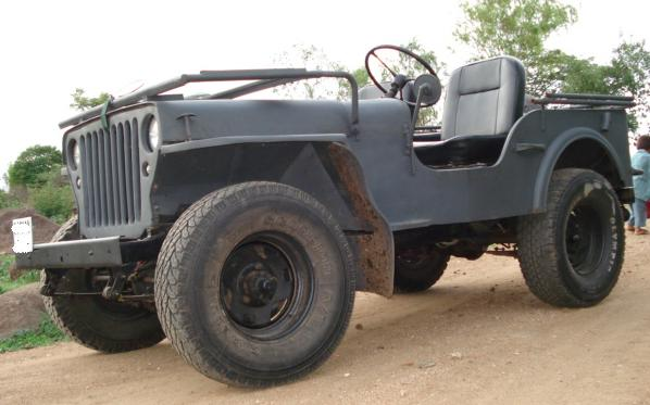 My CJ-2A with MB grille