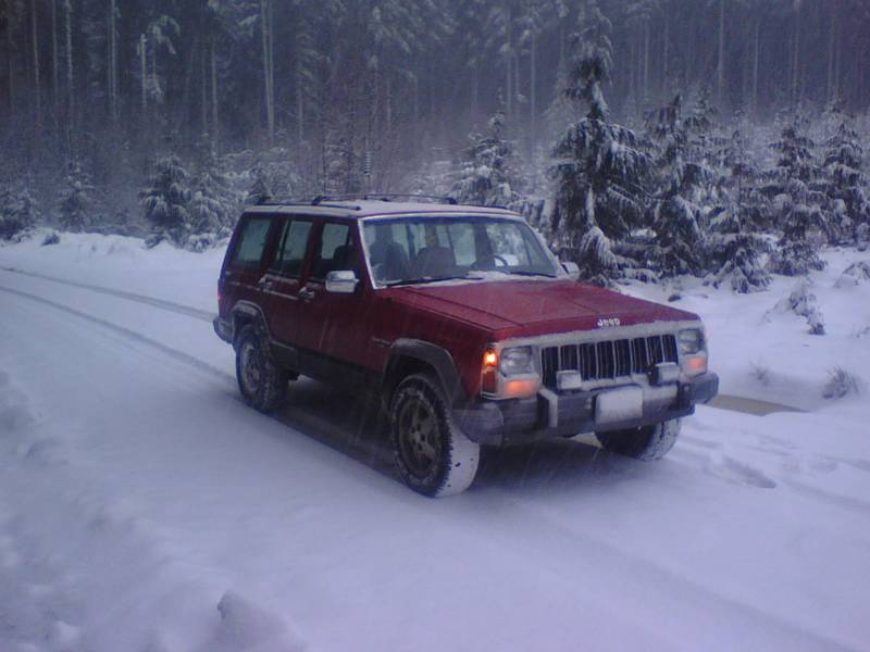 playin' in the snow