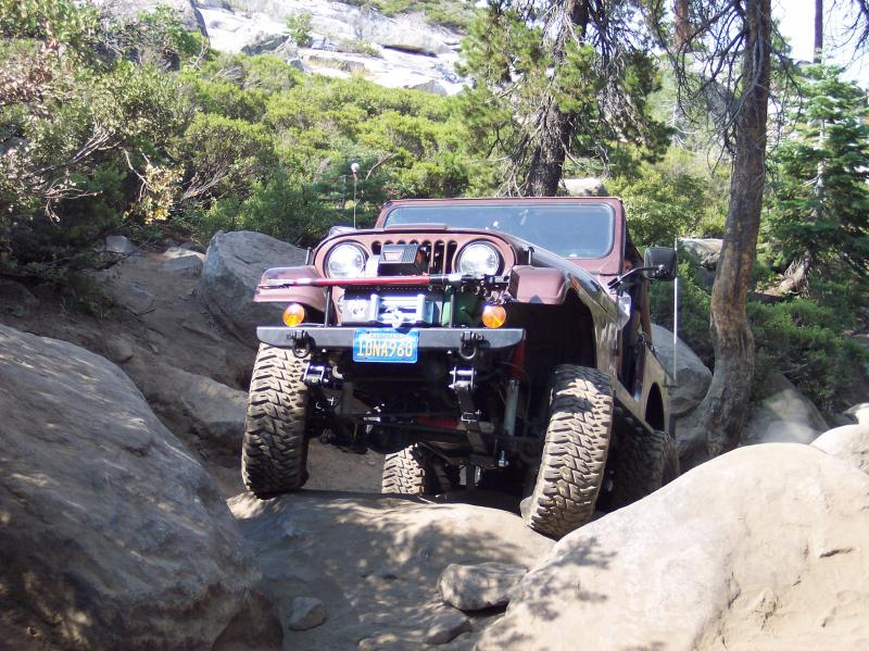 Sully's jeep