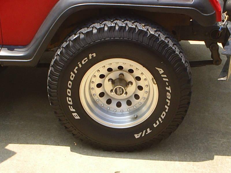 Current tires