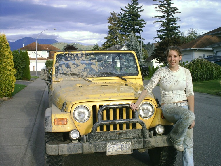 dirty jeep dirty girl - Jeepz.com Reader Rides