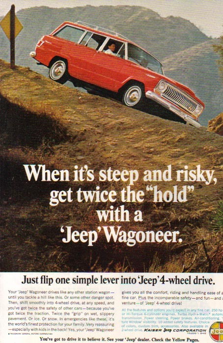 1966 JEEP WAGONEER - GET TWICE THE HOLD