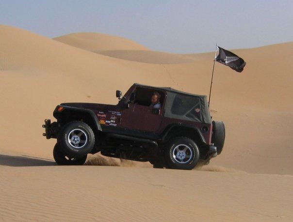 Abu Dhabi Blacksheep: Kiwi in the Sand