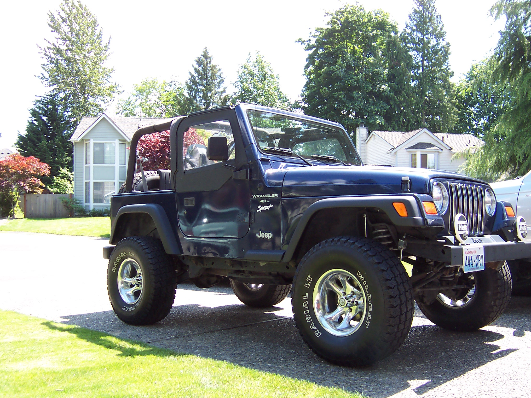 1997 Jeep Wrangler TJ All Purdy