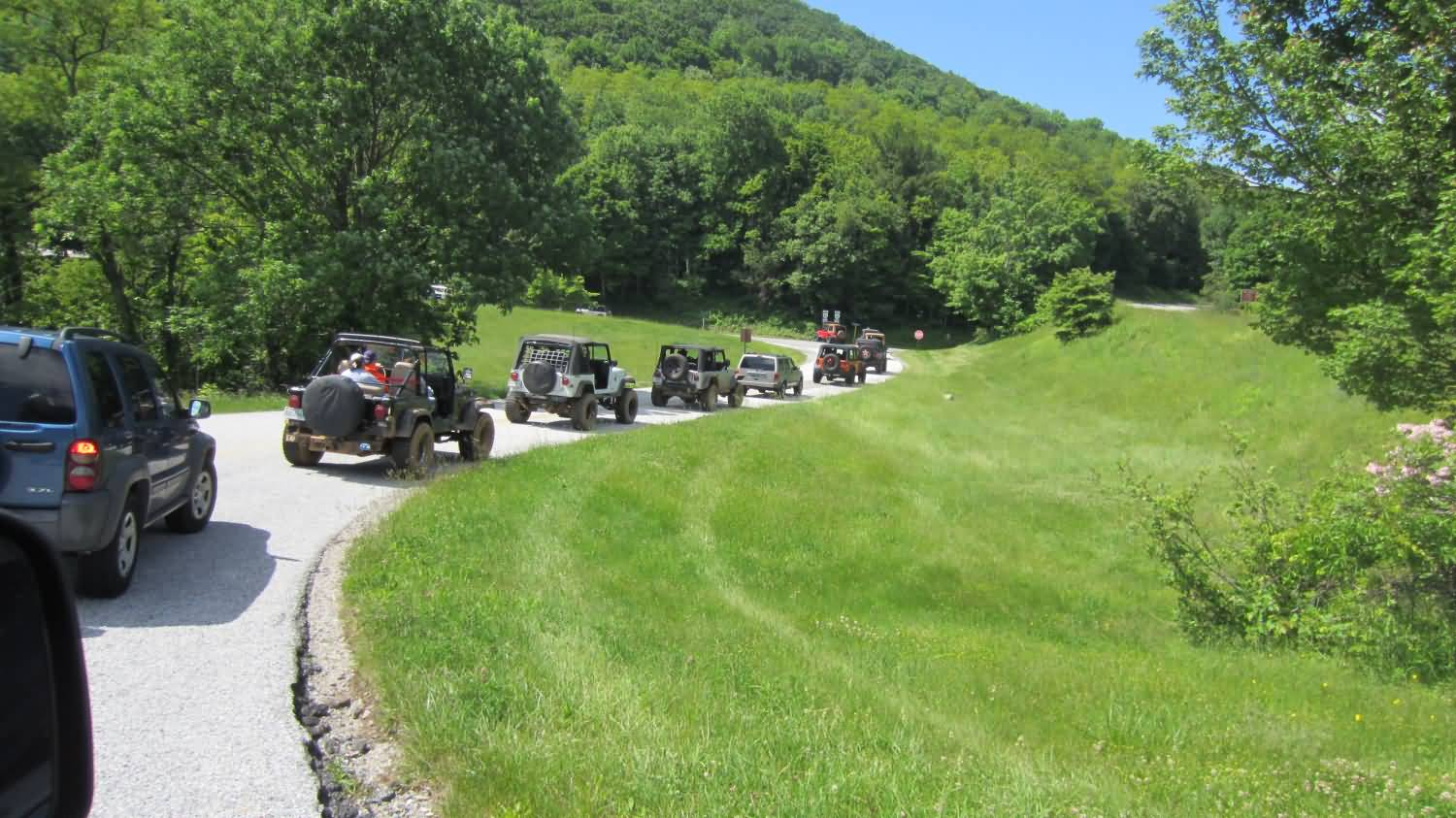 Misty Mountain Jeep Weekend