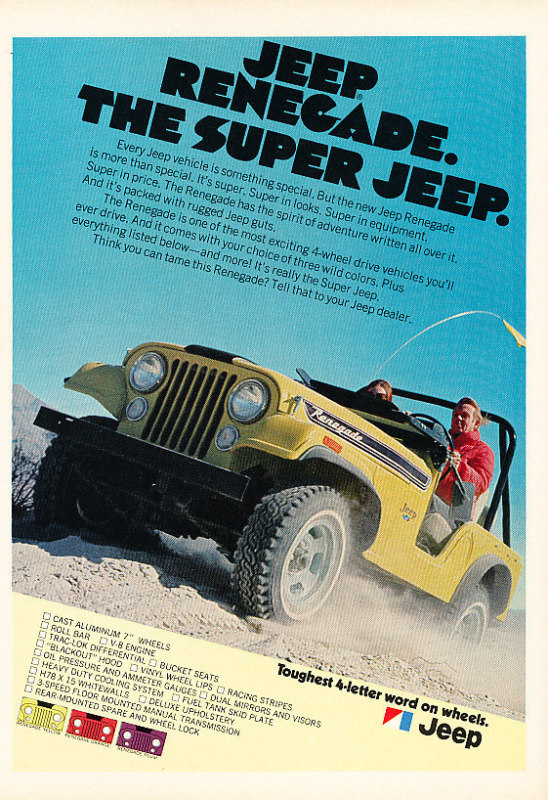 1972 Jeep CJ Renegade