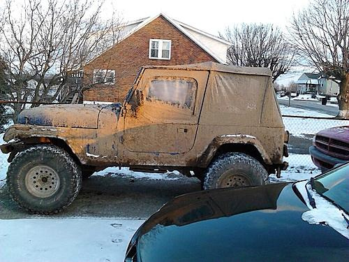 My old jeep