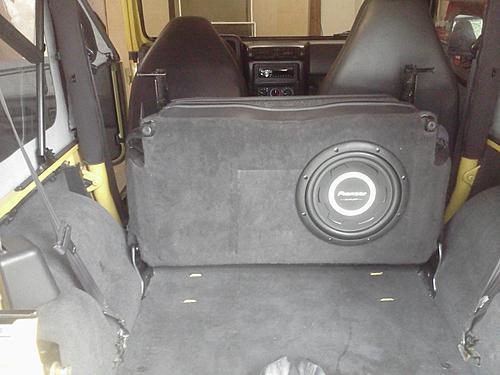 Subwoofer inside of a Jeep Wrangler rear seat-after2.jpg
