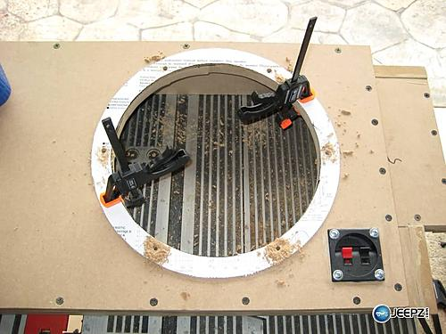 Subwoofer inside of a Jeep Wrangler rear seat-sub_hole_3_jeep_wrangler_subwoofer.jpg