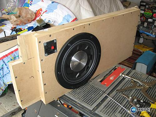 Subwoofer inside of a Jeep Wrangler rear seat-testfit3_jeep_wrangler_subwoofer.jpg