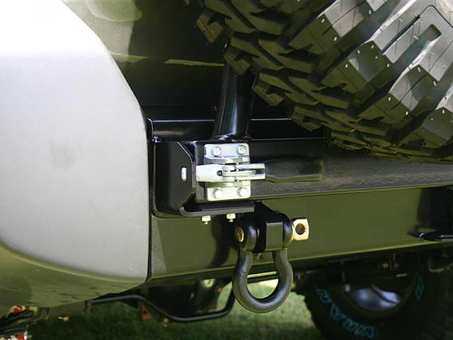 Latch For Spare Tire Carrier