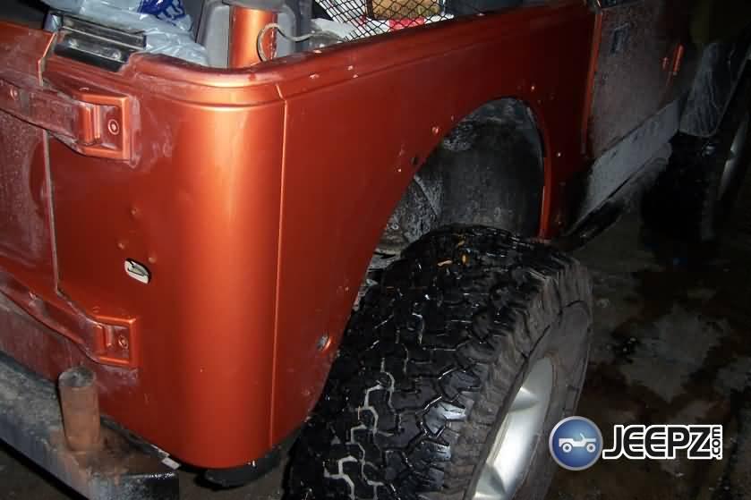 Installing Jeep Wrangler Corner Guards