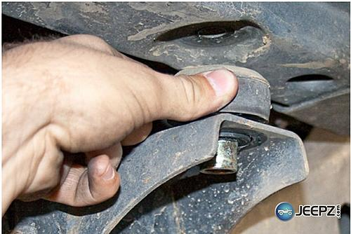 How to install Rock Sliders on a Jeep Wrangler-removing-jeep-wrangler-body-mounts.jpg