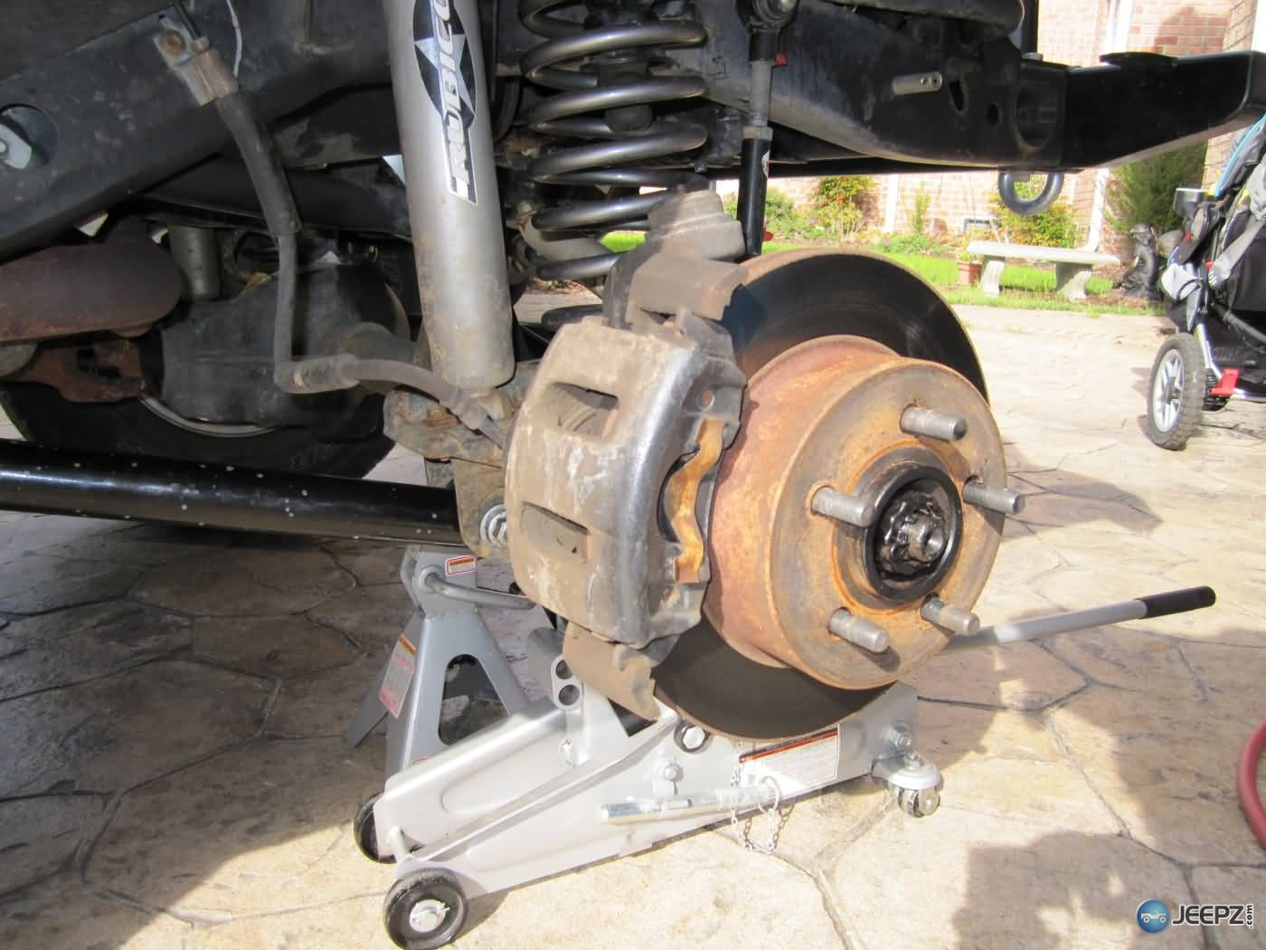 How To Install Replace Rear Disc Brake Calipers