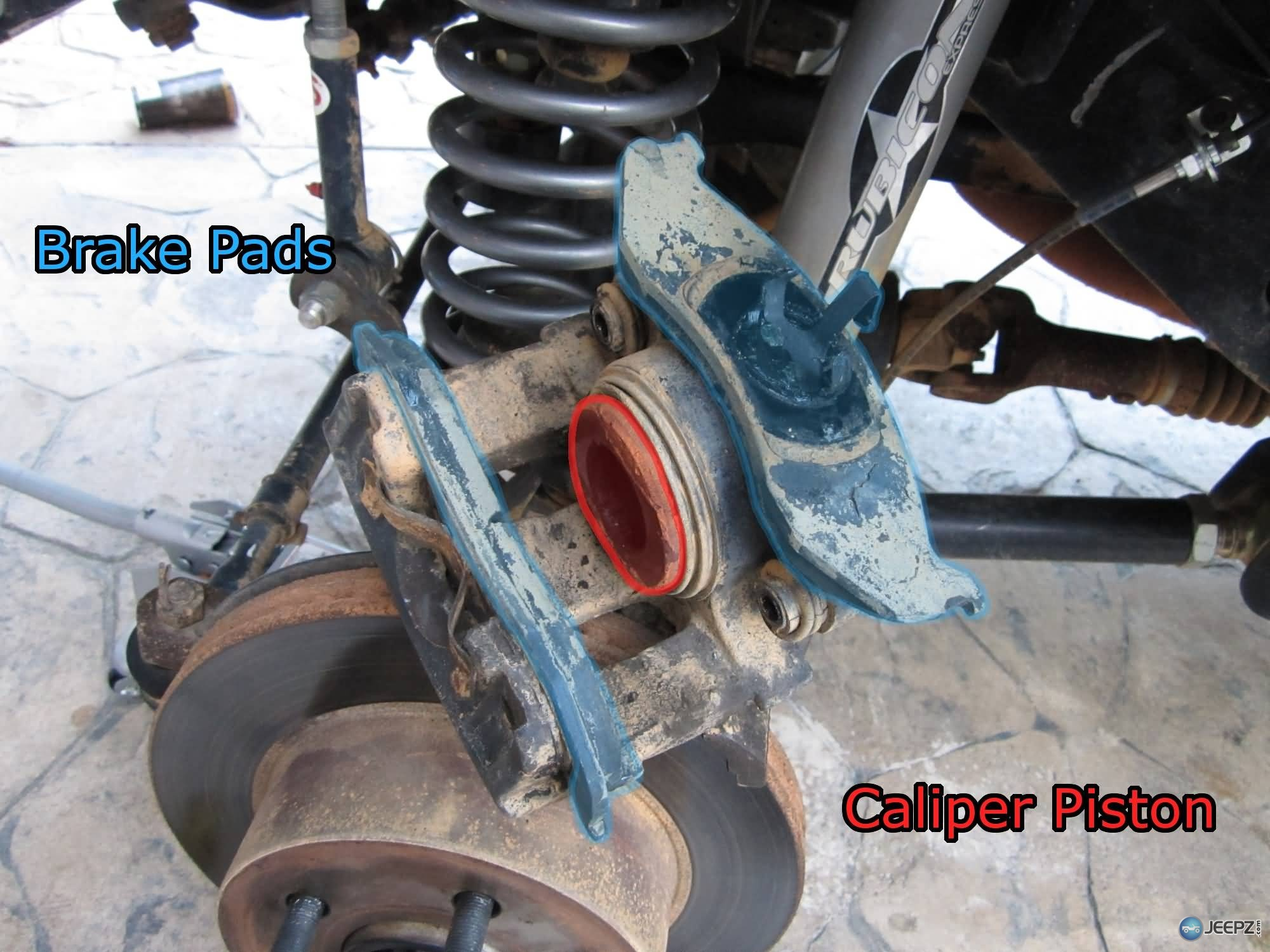 brake pad caliper - photo #13