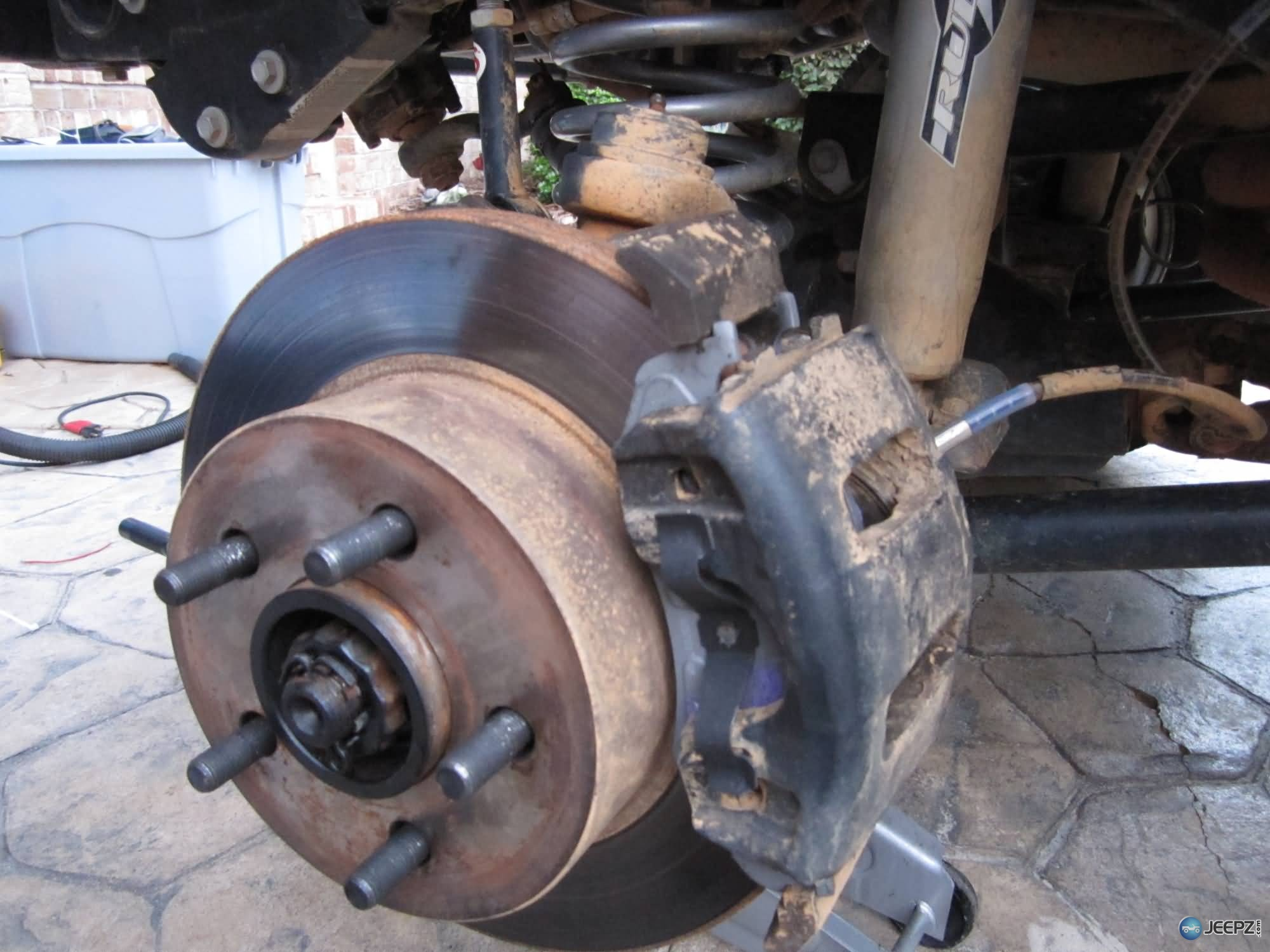 Jeep Brake Pad Change