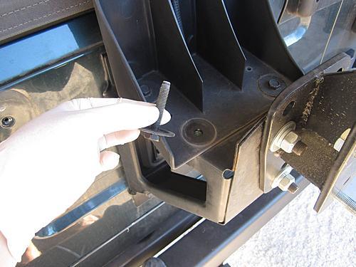 Raising the third brake light on a Jeep Wrangler-wrangler-third-brake-light-bolts.jpg