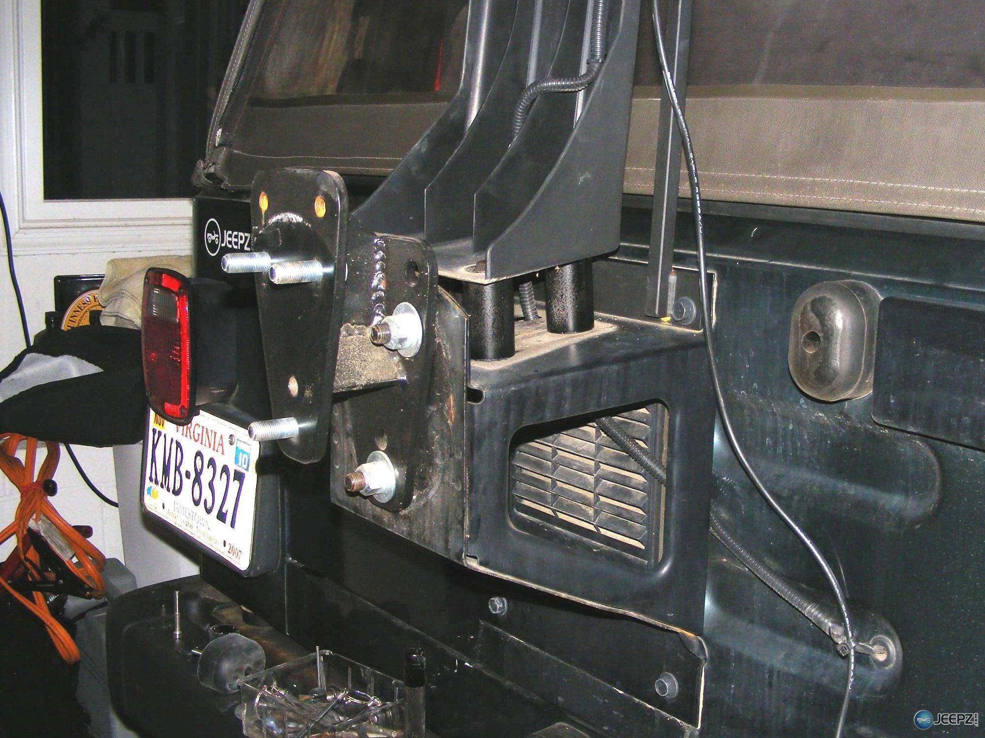 Raising The Third Brake Light On A Jeep Wrangler