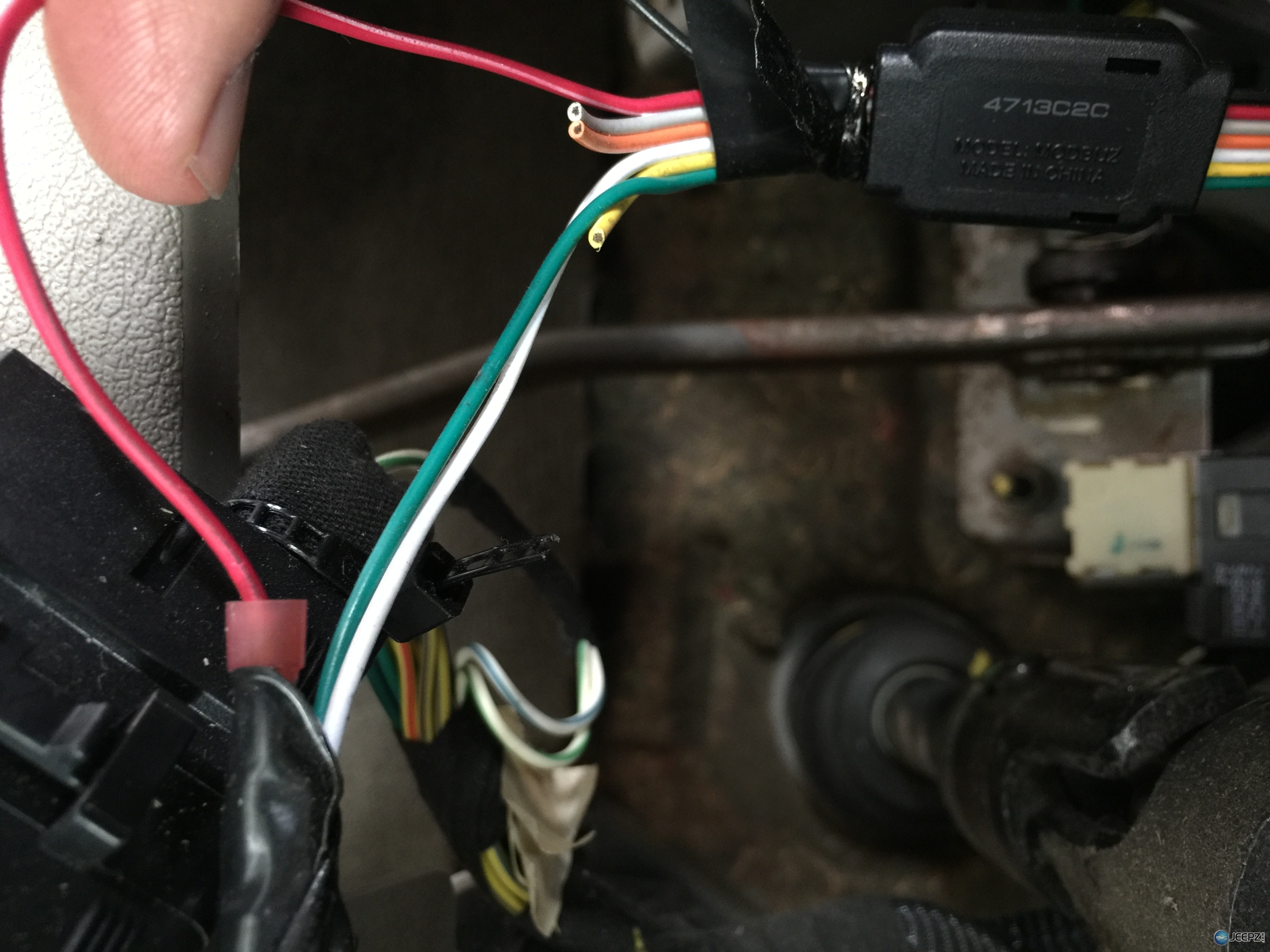 05 Gc Transmission Problem Has Led To Wiring  Part  Question