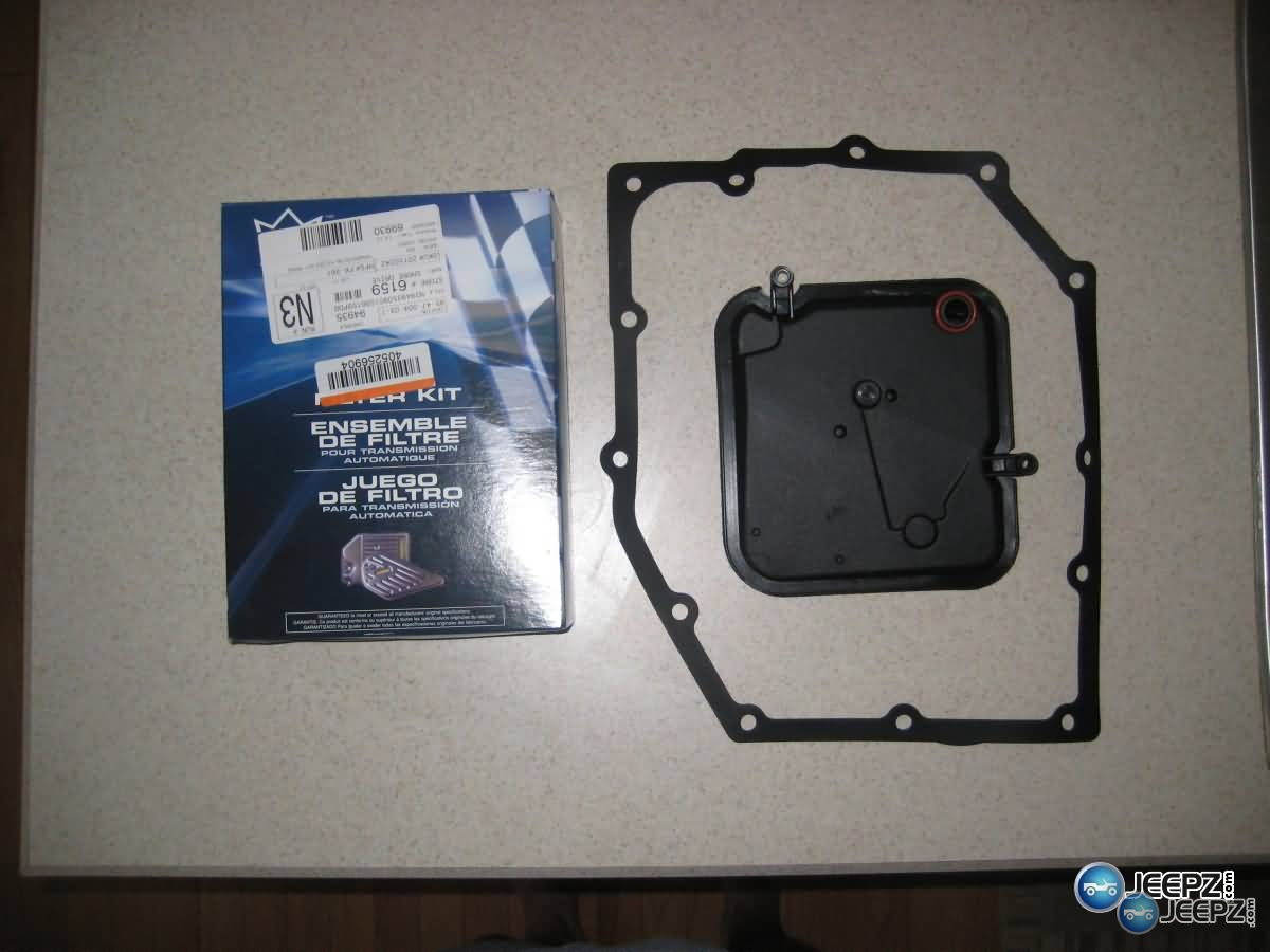 Jeep Wrangler Automatic Transmission Fluid And Filter Change 1998 Fuel Img 1260