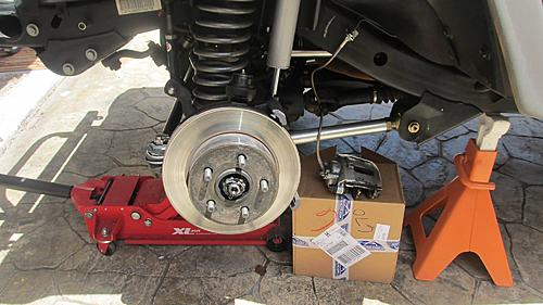 Wrangler TJ wheel hub / bearing assembly replacement-3-remove-caliper.jpg