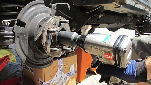 Wrangler TJ wheel hub / bearing assembly replacement-9-remove-wheel-nut.jpg