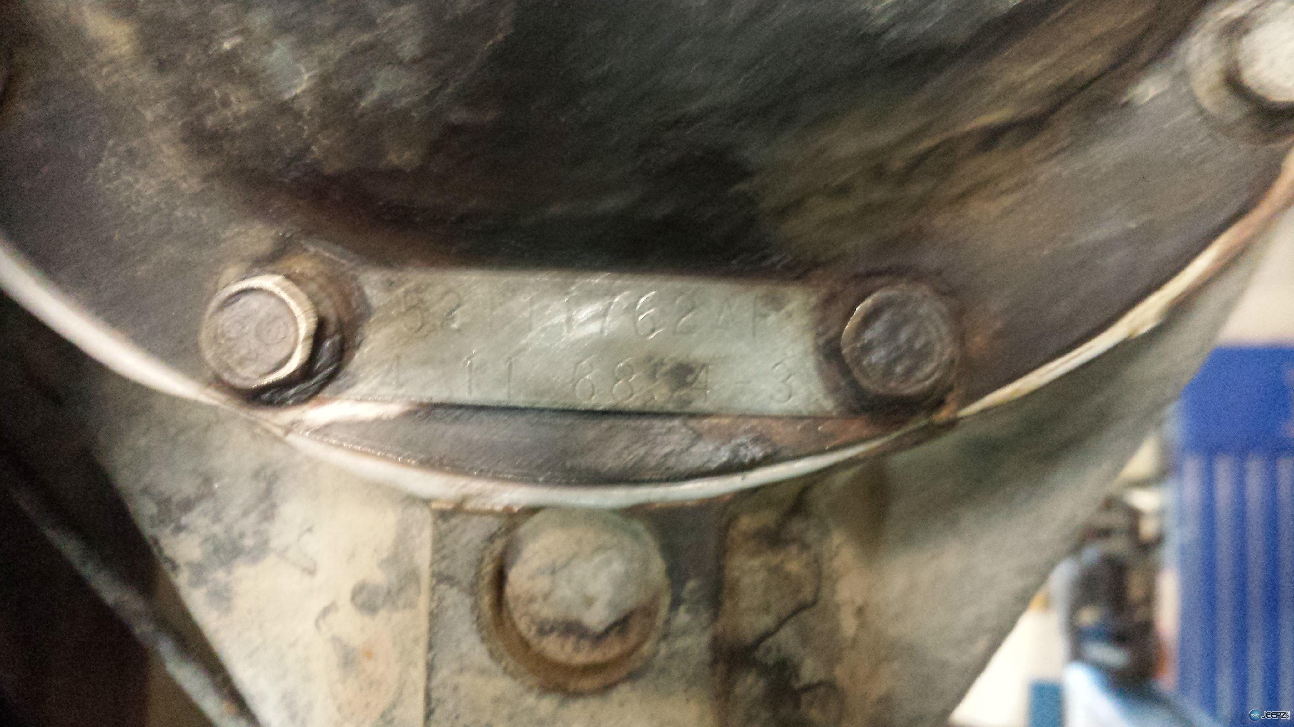Axle Identification