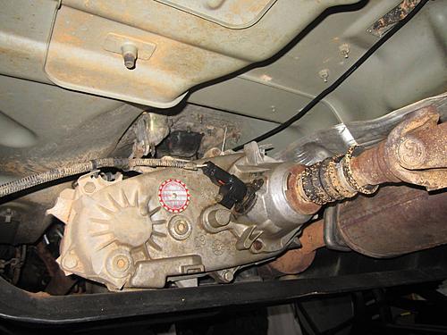Jeep Speedometer Gear Change-11-new-gear-installed.jpg