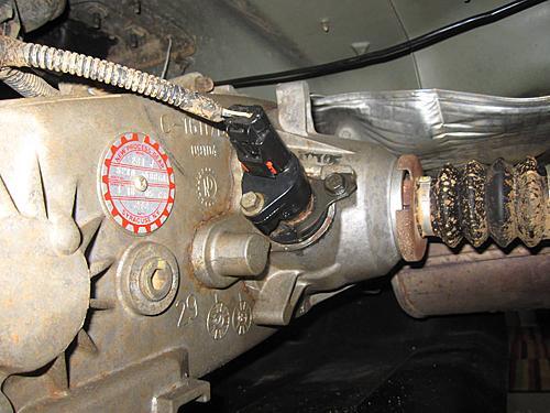 Jeep Speedometer Gear Change-12-jeep-speedo-replaced.jpg