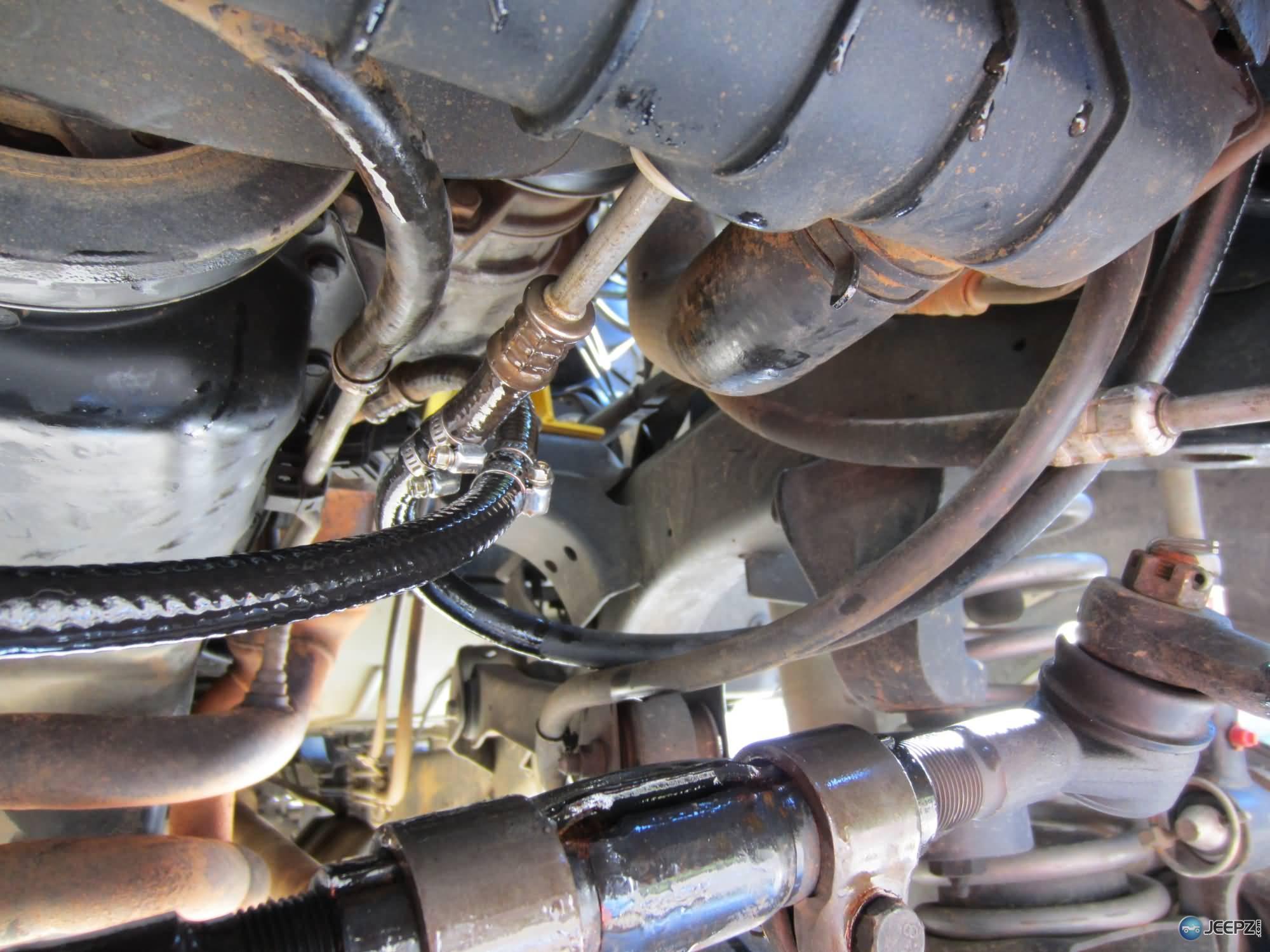 transmission cooler install Jeep Wrangler Transmission Kickdown Cable transmission cooler install 20 plumbing wrangler trans cooler jpg