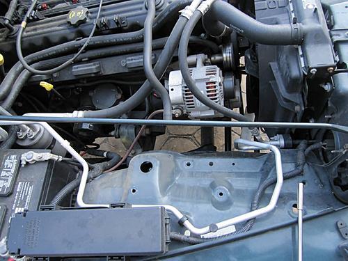 Install a cold air intake on a Jeep Wrangler TJ-09-wrangler-air-box-removed.jpg