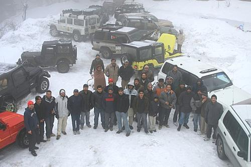 Snow Cross 2010 & Extreme Offroad Conference on 6 th & 7 th Feb 2010 in Nathiagali-groupc3.jpg